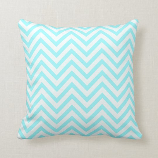 Tiffany Aqua Mint Ocean Blue Beach Chevron White