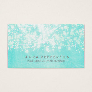 Tiffany Blue Elegant and Modern Business Card