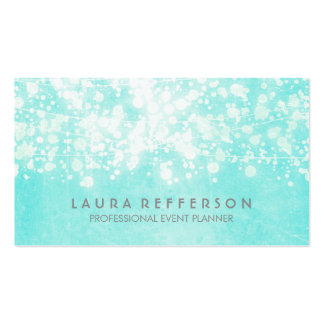 Tiffany Blue Elegant and Modern Pack Of Standard Business Cards