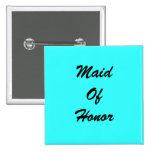 Tiffany Blue Maid Of Honour Pin