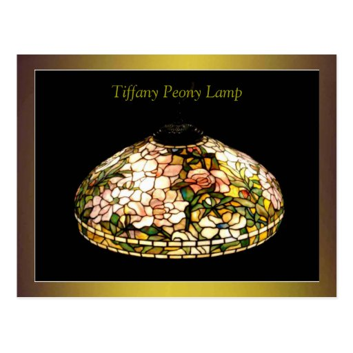 Tiffany Lamp Fine Art Excellent Post Cards
