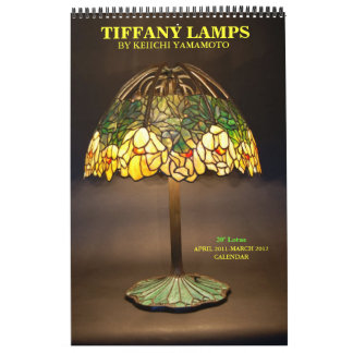 TIFFANY LAMPS CALENDAR