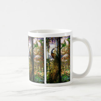Tiffany Stained Glass Nature Mug