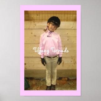 Tiffany Tornado Poster