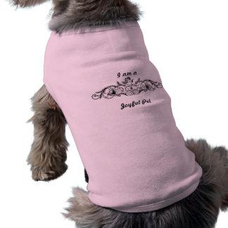 Tiffany's logo dog tee shirt