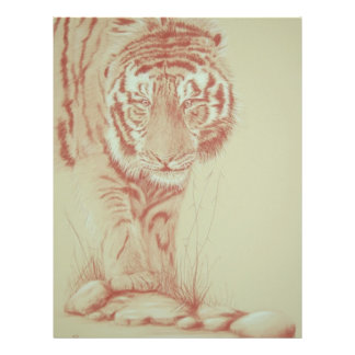 Tigar Personalized Flyer