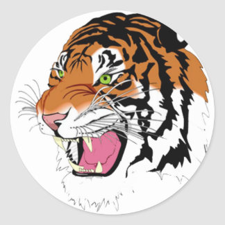 Tiger 2010 sticker