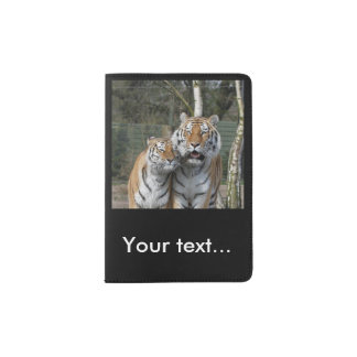 Tiger_2015_0401 Passport Holder