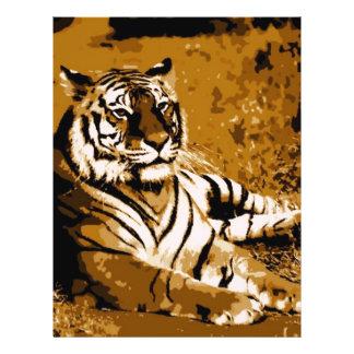 Tiger 21.5 Cm X 28 Cm Flyer