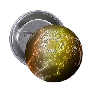 Tiger 2 6 cm round badge