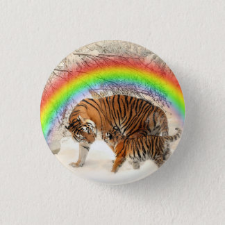 Tiger 3 Cm Round Badge