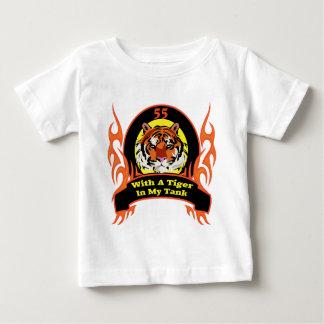 Tiger 55th Birthday Gifts Baby T-Shirt