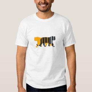 Tiger a Skew T-shirts
