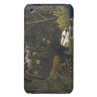 Tiger acking a Horse and a Sleeping Black Man ( iPod Touch Case