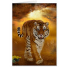 Tiger - After the Storm - Greeting Card