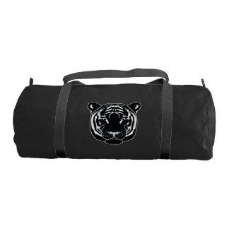 tiger and cat gym duffel bag