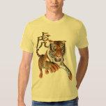 Tiger and Chinese Symbol Shirt