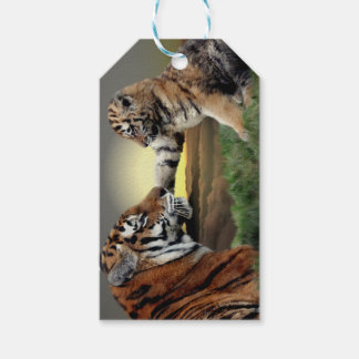 Tiger and Cub Gift Tags