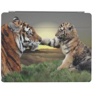 Tiger and Cub iPad Cover (all models)