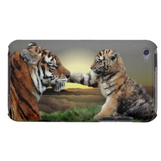 Tiger and Cub iPod Touch Case-Mate Case