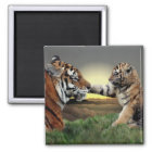 Tiger and Cub Magnet