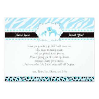 Tiger and Cub Thank You Card Note