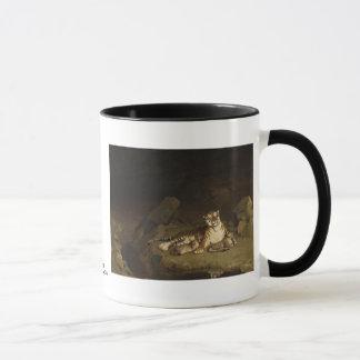 Tiger and Cubs Jean-Leon Gerome 1884 Mug