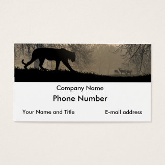 Tiger and Deer Business Card