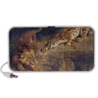 Tiger and Lion Portable Speaker
