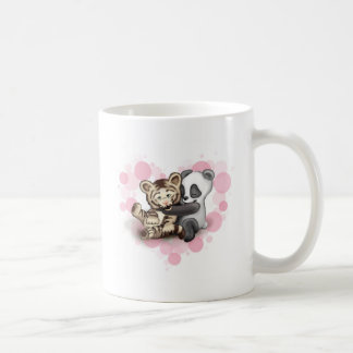 Tiger and Panda Coffee Mug