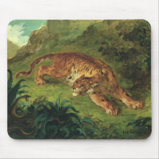 Tiger and Snake, 1858 Mouse Pad