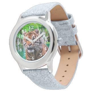 Tiger and Waterfall Watch