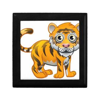 Tiger Animal Cartoon Character Small Square Gift Box