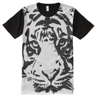 tiger, animal face All-Over print T-Shirt