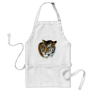 tiger adult apron