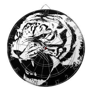 Tiger art dartboard