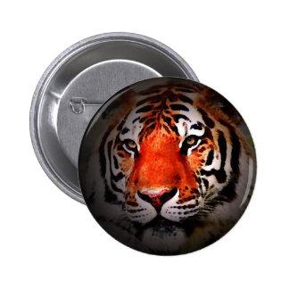 Tiger Art - Wild Cats 6 Cm Round Badge