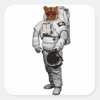 Tiger Astronaut Sticker