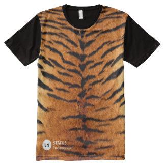 Tiger awareness All-Over print T-Shirt
