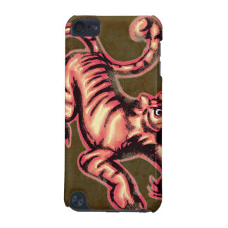 Tiger Baby Painting Cartoon Salmon Brown iPod Touch 5G Covers