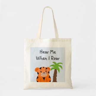 Tiger Baby Tote Bag