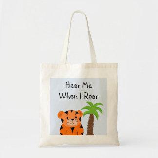 Tiger Baby Budget Tote Bag