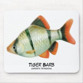 Tiger Barb Aquarium Fish Mousepad