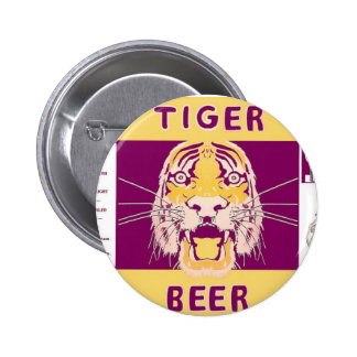 Tiger Beer Manhattan Brewing Pinback Button