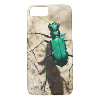 Tiger Beetle Phone Case, Insect Photography iPhone 8/7 Case