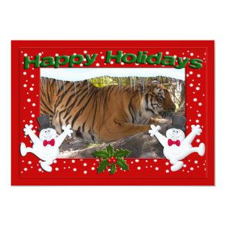 Tiger Bengali-c-139 copy 13 Cm X 18 Cm Invitation Card
