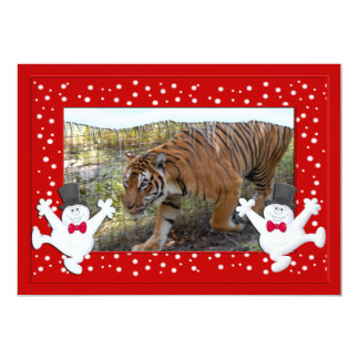 Tiger Bengali-c-140 copy 13 Cm X 18 Cm Invitation Card