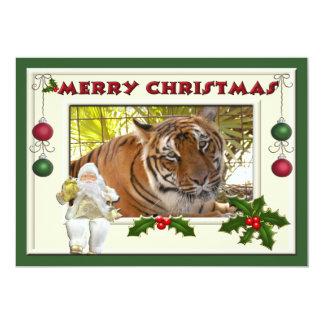 Tiger Bengali-c-141 copy 13 Cm X 18 Cm Invitation Card