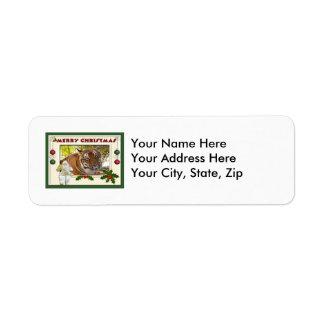 Tiger Bengali-c-141 copy Return Address Label