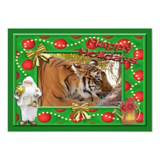 Tiger Bengali-c-143 copy 13 Cm X 18 Cm Invitation Card